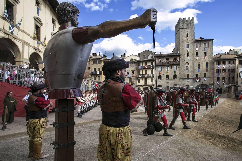 135° Edizione della Giostra del Saracino di Arezzo